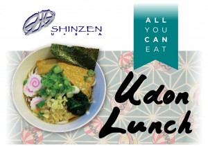 all you can eat udon lunch