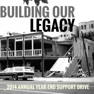 Building Our legacy letter graphic copy