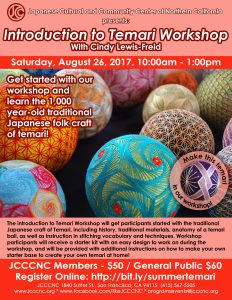 Introduction to Temari Workshop @ JCCCNC | San Francisco | California | United States