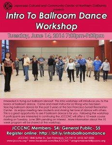 Intro to Ballroom Dance Workshop @ JCCCNC | San Francisco | California | United States