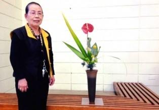 Ikebana at JCCCNC
