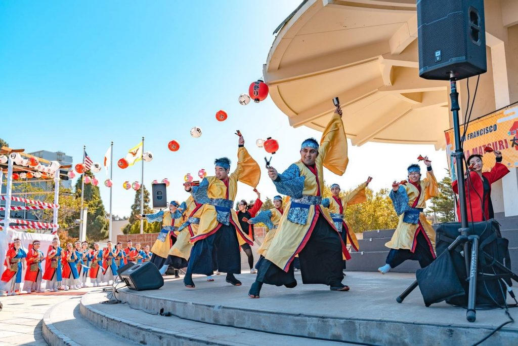 Virtual Yosakoi Dance Workshop with Berkeley Buddhist Temple @ Online via Zoom | San Francisco | California | United States