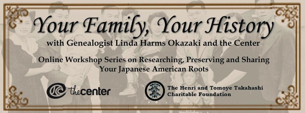 Webinar - Your Family, Your History: Session 7 - Writing Workshop @ Online via Zoom webconferencing