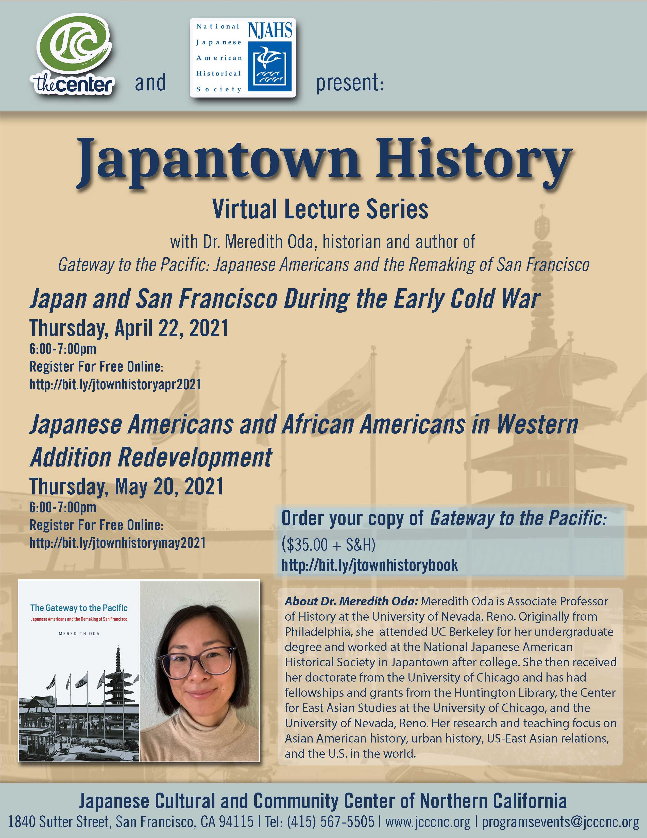 Japantown History Series with Dr. Meredith Oda: Japanese Americans and African Americans in Western Addition Redevelopment