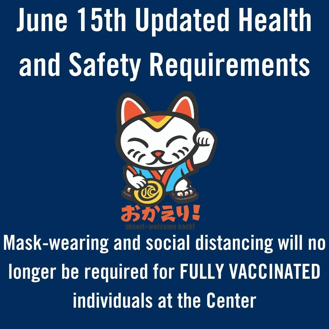 June 15th Updated Health and Safety Requirements