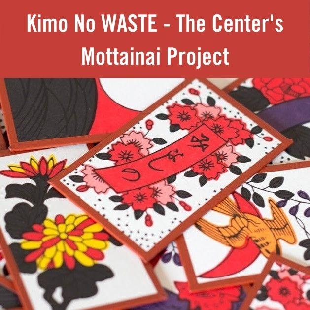 Kimo No Waste – The Center's Mottainai Project