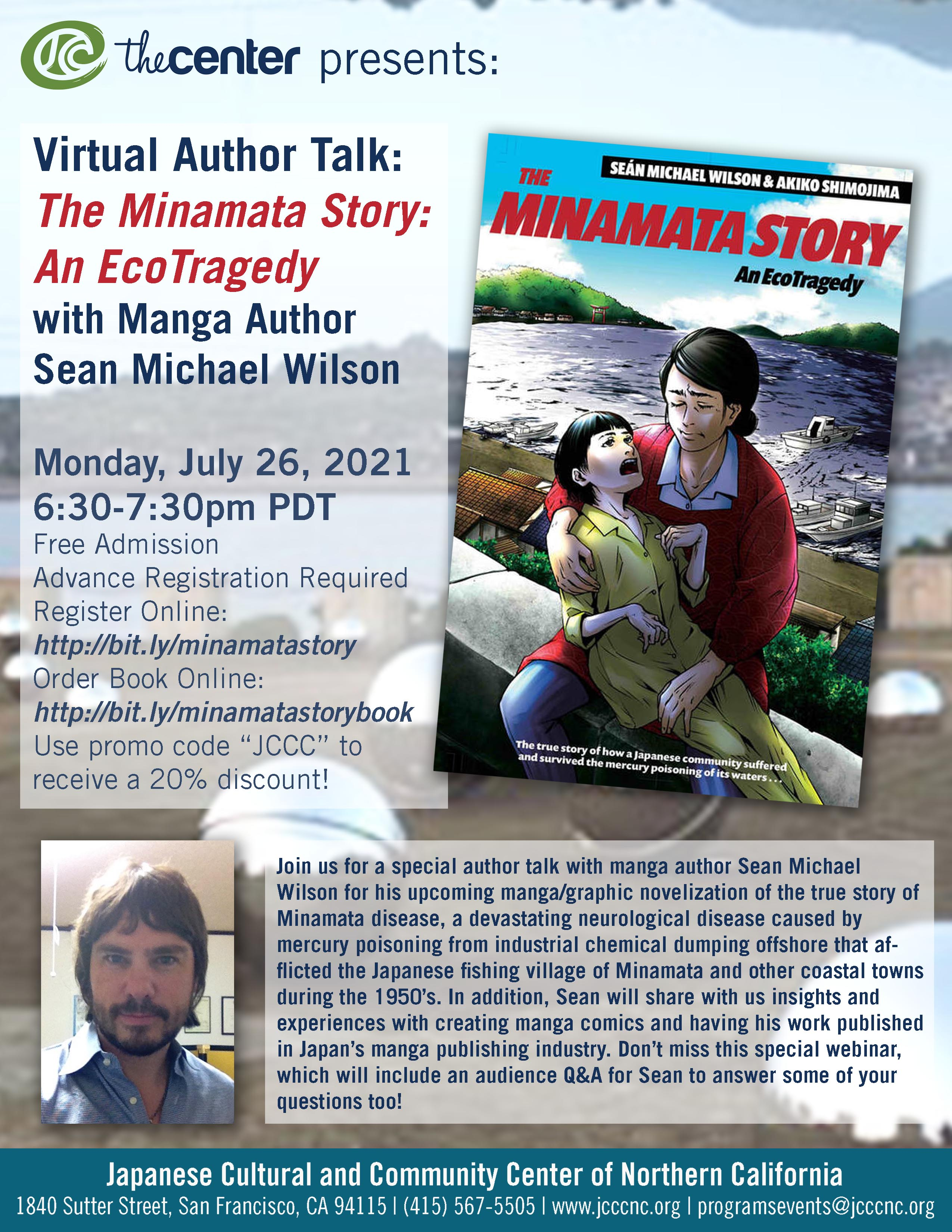Author Talk – The Minamata Story: An EcoTragedy with Manga Author Sean Michael Wilson